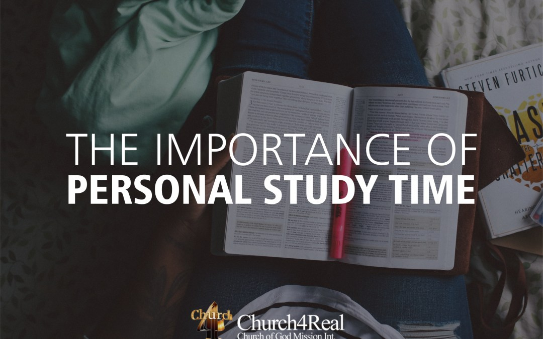The Importance of Personal Study Time