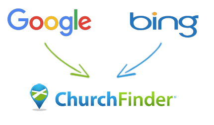 Church Finder – How it Works for Churches