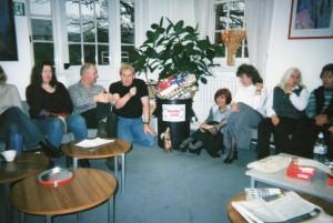 Social Staff Room, Christmas Bran Tub, 2002.