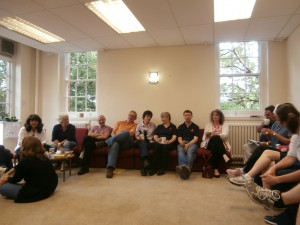 The Social Staff Room on the penultimate day of Church High.