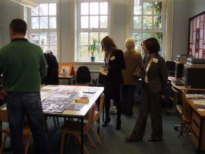 Church High Open Day in Room 5, 2008.