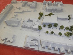 Site Model for Newcastle High School for Girls.