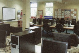 The ICT Suite not long after it opened in .