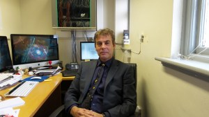 Steven Farrell in his office in 2014.
