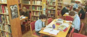 The Library as I remember it in the 1980s.