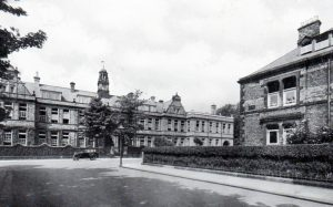 School Buildings 1935 with the 1933 north extension.