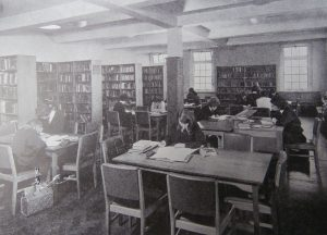 The School Library in the 1960s-1970s.