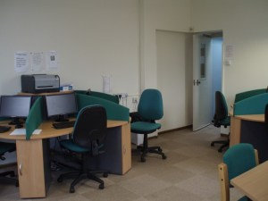 The Staff IT Room next door to the IT Manager's Office.