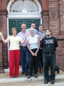 The Church High Support Staff say goodbye to the building.