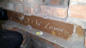 Hidden history in the eaves: those who shaped her left their mark for us.