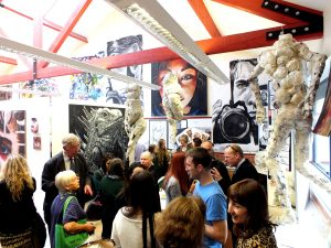 Church High Art Exhibition, June 2013.