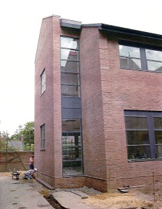 The Barbour Wing was built on a section of the old school playground. In the 21st Century, state-of-the-art teaching facilities outweigh outside space as a selling point for schools.