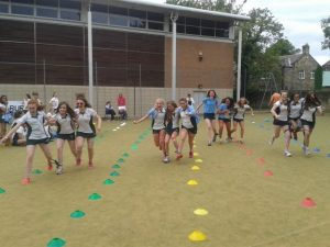 The Final House 'Silly' Sports Day in 2014: always a fun event which encapsulated the 'spirit' of Church High.