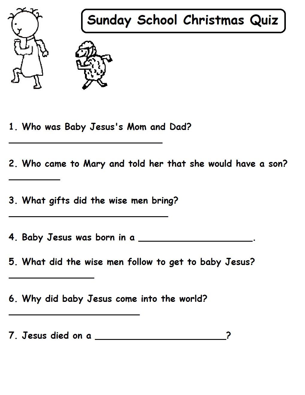 christmas quiz on baby jesus beginner