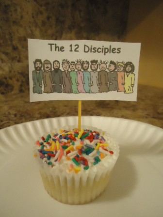 The 12 Disciples Cupcakes