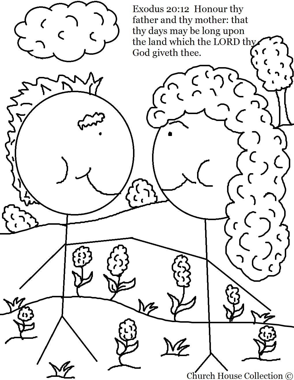 Love Thy Neighbor Clip Art