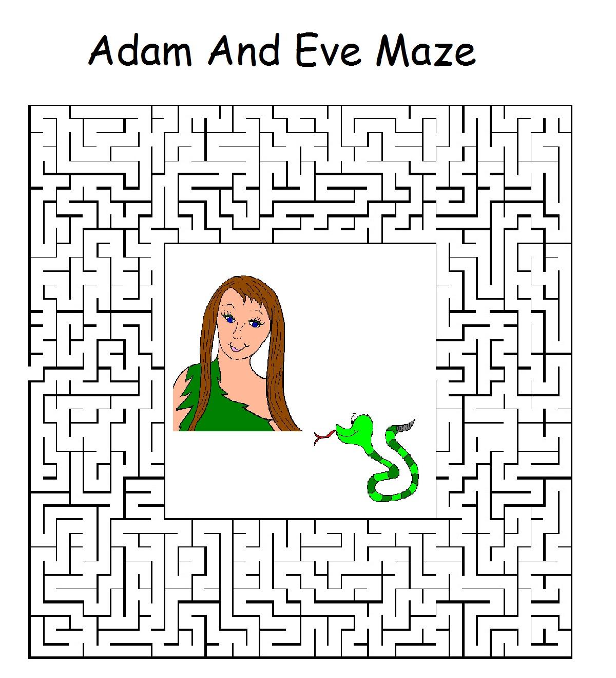 Adam And Eve Sunday School Lesson