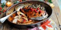 Cranberry Glazed Turkey Breast. Karen Burns-Booth. Lavender and Lovage.