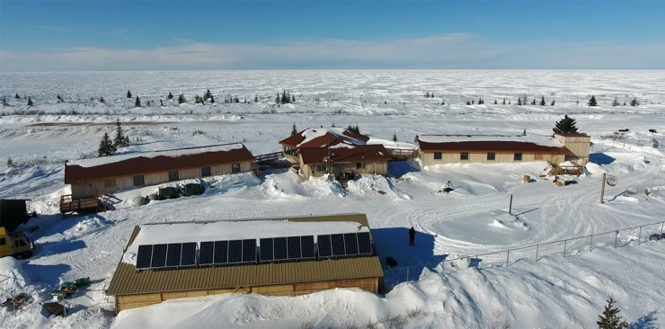 Nanuk Polar Bear Lodge was the host for the second phase of research on the Hudson Bay System Study (BaySys).