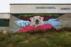Mural Artist: Pat Lazo. Tre Pakard photo.