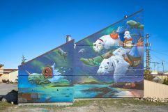 Mural Artist: DULK. Tre Pakard photo.