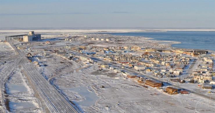 The port of Churchill has faced some some major challenges this year. Image courtesy of their Hungry Bears Food Bank. Click to visit!
