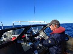 Captain Jack Batstone piloted the Oddney II.