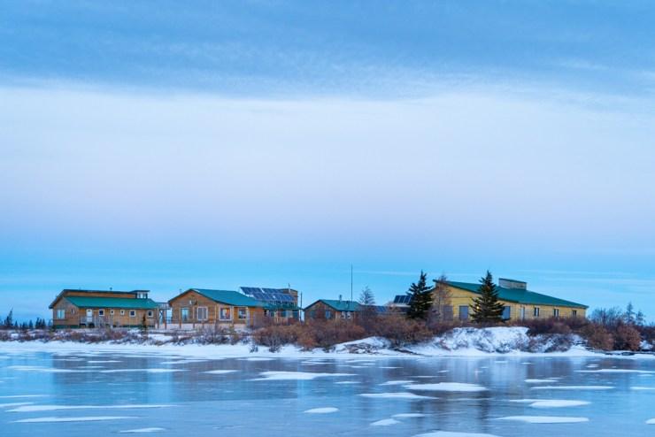 Dymond Lake Ecolodge is only a kilometre from Hudson Bay. Scott Zielke photo.