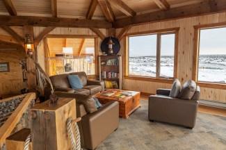 3rd Place - Lodge Int/Ext. - Michele Junio - Polar Bear Photo Safari