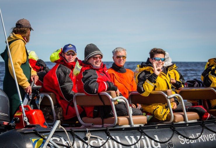 Prepared for wind and water at Seal River Heritage Lodge. Glenn Bloodworth photo.