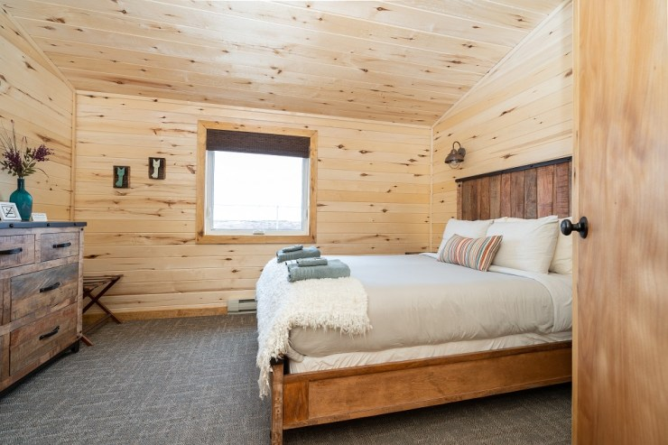 The bedrooms at Seal River Heritage Lodge are a lot different now!