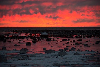 sunset-churchill-wild-seal-river-heritage-lodge-arturo-spanjani