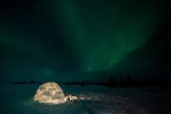 Igloo. Nanuk Polar Bear Lodge.