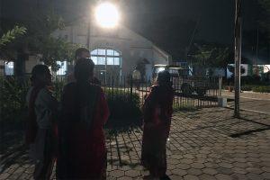 Waiting at Indore jail