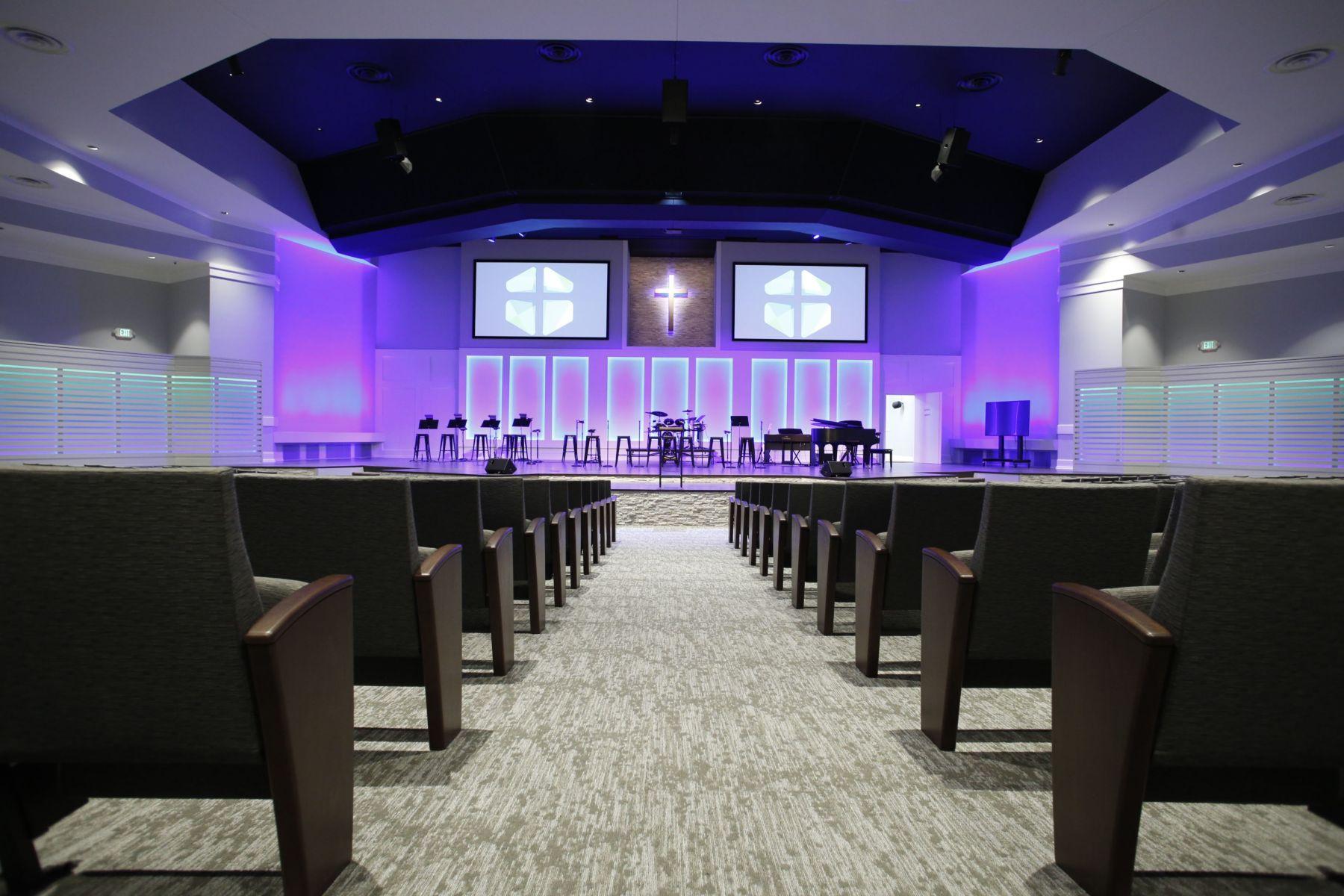 church furniture furnishings seating