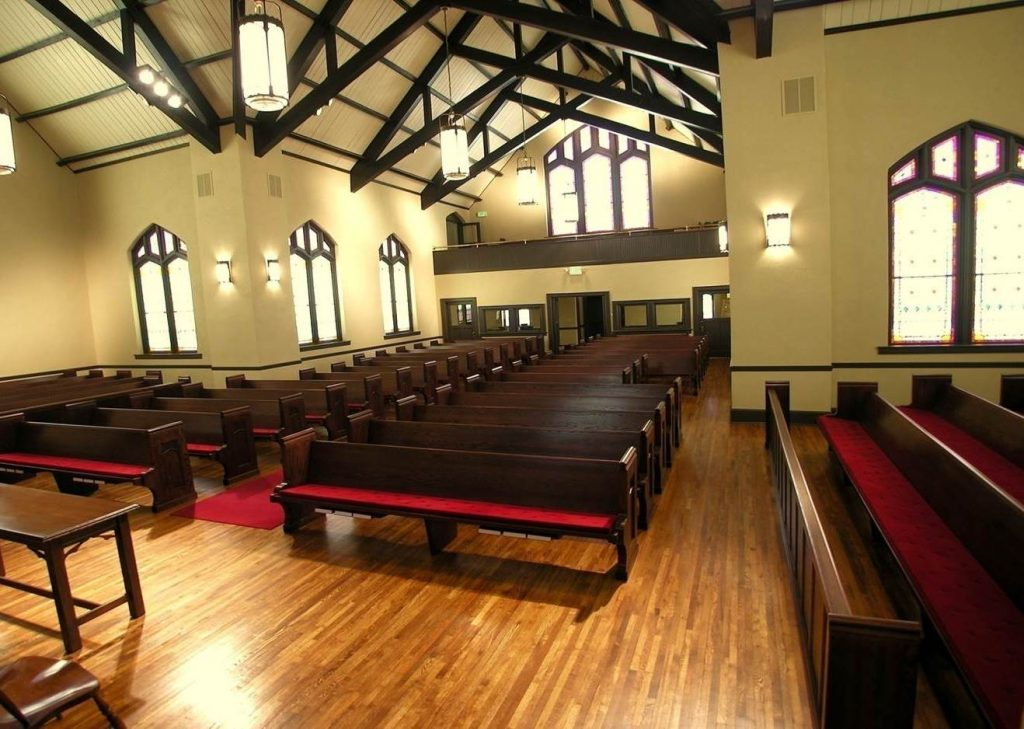 Furniture Refinishing For Pews Chairs Courtroom Benches