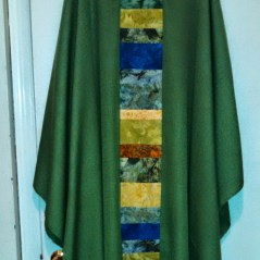Front of chasuble