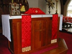 Red Vestments 1