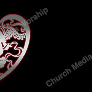Angel of Love Chrome Christian Worship Background. High quality worship images for use to spread the Gospel and enhance the worship experience.