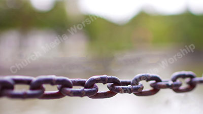 Binding Chain Christian Worship Background. High quality worship images for use to spread the Gospel and enhance the worship experience.