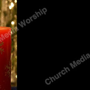 Christmas Candle V3 Black Christian Worship Background. High quality worship images for use to spread the Gospel and enhance the worship experience.