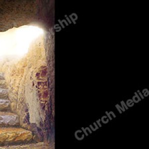 Inside the tomb Black Christian Worship Background. High quality worship images for use to spread the Gospel and enhance the worship experience.