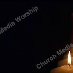 Line of Candles Christian Worship Background. High quality worship images for use to spread the Gospel and enhance the worship experience.