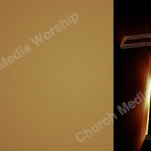 Looking up glowing cross Christian Worship Background. High quality worship images for use to spread the Gospel and enhance the worship experience.
