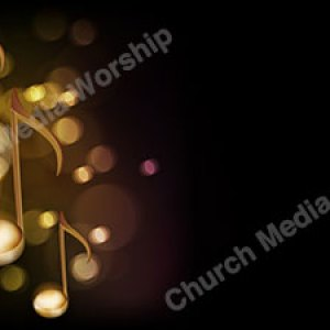 Music notes Christian Worship Background. High quality worship images for use to spread the Gospel and enhance the worship experience.
