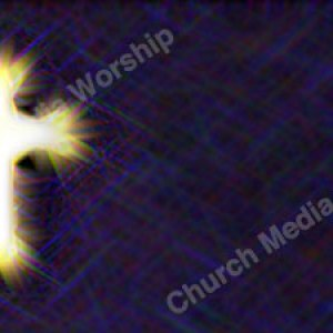 Starry Cross Purple Christian Worship Background. High quality worship images for use to spread the Gospel and enhance the worship experience.
