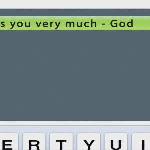 Text Message from God Miss you Christian Animated Still A professional animated intro that's stops on a still image without continuous movements distraction