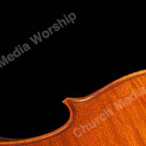 Violin across the bottom Christian Worship Background. High quality worship images for use to spread the Gospel and enhance the worship experience.