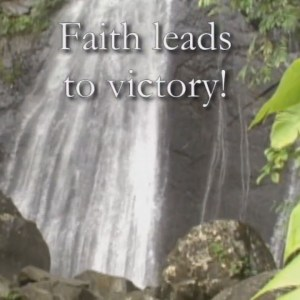 Faith Is The Victory Singalong Christian Video HD. With perfectly timed Lyrics. Easy to follow and sing Video and Audio to enhance the Worship experience.