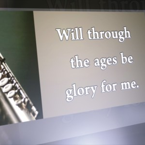 Glory For Me Singalong Christian Video HD. With perfectly timed Lyrics. Easy to follow and sing Video and Audio to enhance the Worship experience.